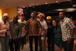 Sharylaine, Pop Black, Marcos Elias, Criolo, Nelson Triunfo, Renan Inquérito, Jéssica Balbino, Dj Duh (foto: Panikinho)